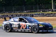Castrol Syntec Mazda RX-8 Royalty Free Stock Photos