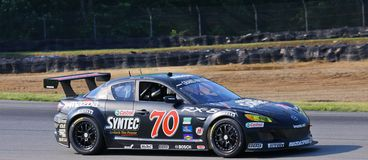 Castrol Syntec RX-8 Royalty Free Stock Photography