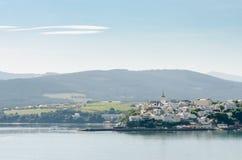Castropol, Астурия, Испания Стоковые Фото