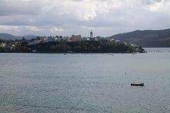 Castropol, as Astúrias, Espanha Fotos de Stock Royalty Free