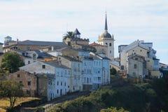 Castropol, Asturias ( Spain ). Castropol, in the Estuary of Eo river, Asturias (Spain&#x29 Royalty Free Stock Photos