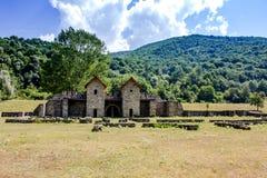 Castrum Arutela римское Стоковое Изображение RF