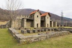 Castrum romano de Arutela fotos de archivo