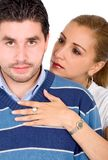 Casual adult couple Royalty Free Stock Photos