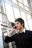 Casual asian businessman Stock Images