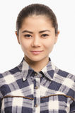 Casual Asian girl smiling portrait. Beautiful  woman smiling. Royalty Free Stock Image