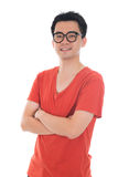 Casual asian male Stock Photography