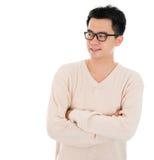 Casual Asian man Royalty Free Stock Image