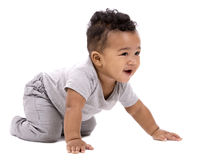 Casual baby boy Royalty Free Stock Images