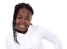 Casual black girl Royalty Free Stock Photography