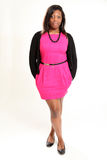 Casual Black Woman Royalty Free Stock Photos