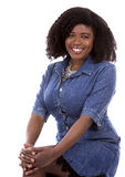 Casual black woman Royalty Free Stock Photos