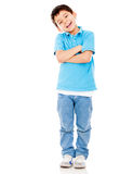 Casual boy smiling Stock Photo
