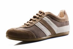 Casual Brown Shoe Royalty Free Stock Images
