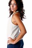 Casual brunette Stock Photo
