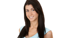 Casual brunette Royalty Free Stock Images