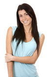 Casual brunette Royalty Free Stock Photography