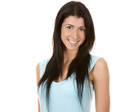 Casual brunette Stock Images