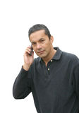 Casual business call Stock Photo