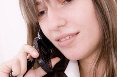 Casual business call Royalty Free Stock Photography