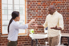 Free Casual Business Colleagues Having An Argument Royalty Free Stock Images - 57377959