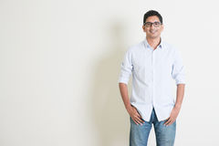 Casual business Indian male portrait Royalty Free Stock Photography