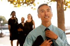Casual Business Portrait Stock Images