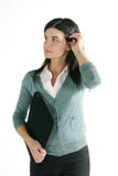 Casual business woman Royalty Free Stock Image