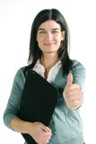 Casual business woman Stock Images