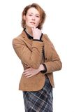 Casual Business Woman Stock Photography