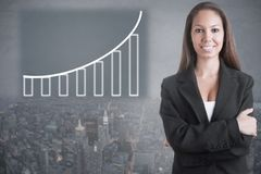 Casual Business Woman stock photos