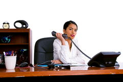 Casual Business Woman In Office royalty free stock photography