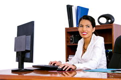 Casual Business Woman In Office Stock Images