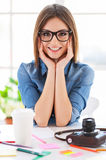 Casual business woman. Stock Image