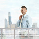 Casual businessman Royalty Free Stock Photos