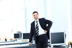 Casual businessman Stock Photos