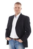 Casual businessman portrait Stock Image