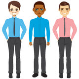 Casual Businessmen Group Stock Images