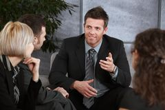 Casual businesspeople Stock Photography