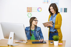 Casual businesswomen Royalty Free Stock Photography