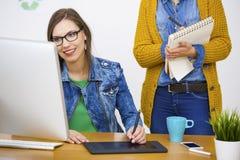 Casual businesswomen Stock Photos