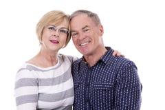 Casual caucasian couple Royalty Free Stock Photos