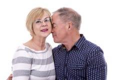 Casual caucasian couple Stock Image
