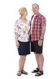 Casual caucasian couple Stock Images