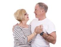 Casual caucasian couple Stock Photography
