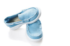 Casual children's shoes Stock Photos