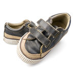 Casual chldren's shoes Royalty Free Stock Photos