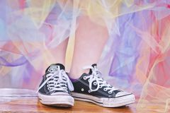 Casual, Chucks, Classic Stock Images