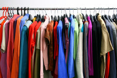 Casual clothing Stock Images