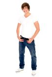 Casual cool young guy Stock Images